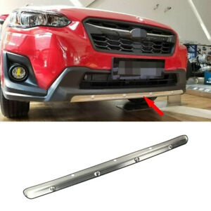 Fits Subaru Crosstrek/XV 2018+ S. Steel Front Bumper Lower Cover Protector Plate