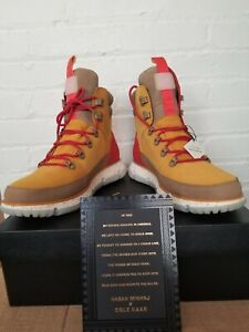 Cole Haan Zerogrand 4ZG Hasan Minhaj Collab Hiker Boot Mineral Yellow Size 10.5