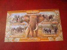 Mali - 2020 Elephants - Minisheet - Unmounted Used Souvenir Miniature Sheet
