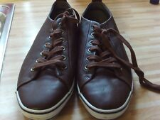 New Without Tags Mens Faux Brown Leather Tie LacesTopshop Pumps Size 7