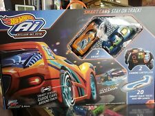 HOT WHEELS Ai INTELLIGENT RACE SYSTEM WITH 2 SMART CARS. NEW