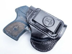 Ruger LCP 380 | Full Grain Leather IWB Conceal Carry Inside Pants Holster