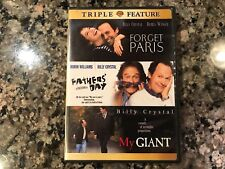 Forget Paris Father's Day My Giant Dvd! 1995 Comedy! Splash Fever Pitch Sabrina