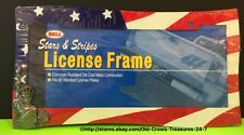 Bell Stars And Stripes Red White And Blue License Frame Die Cast Metal Gift
