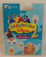 2003 Playhouse Disney 2 Cassette Tape w/ 25 songs NOS factory sealed