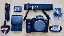 Sony Alpha A7R II 42MP Mirrorless Fotocamera Digitale-Nero (Solo Corpo)