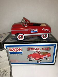Die cast Crown Premiums Exxon Oil 1948 Pedal Car 1/6 Scale Bank Limited Edition