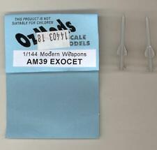 OzMods Models 1/144 AM-39 EXOCET Missile Resin Set