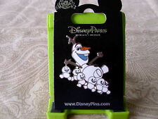 Disney * OLAF & SNOWGIES * New on Card Character Trading Pin
