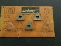 CARBOLOY TPMG-434-E CARBIDE INSERTS (3 PCS) GRADE 883 - Item #131