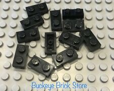 LEGO Lot of 12 1x2 Black Plate 3182 10040 10133 10018 10188 10194 10211 3222