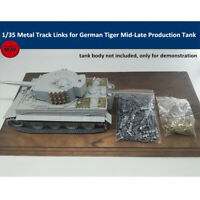 1/35 Metal Track Links for German Tiger Mid-Late Production Tank w/metal pin