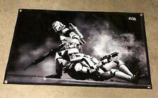Star Wars thick canvas vinyl banner storm trooper figure poster battle sign
