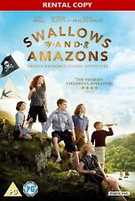 Swallows and Amazons DVD 2016 * NEW & SEALED RENTAL EDITION * FAST DISPATCH !