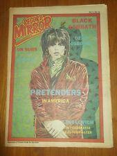 RECORD MIRROR MAY 10 1980 BLACK SABBATH PRETENDERS UK SUBS LENE LOVICH POSTER