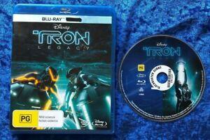 Tron Legacy Bluray Free Postage