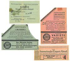 Olympic Games Olympische Spiele Berlin 1936 Eintrittskarte Ticket