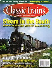 CLASSIC TRAINS WINTER 2013 ROCK ISLAND DM&IR PENNSY BRANCH LINE C&O SOUTHERN L&N