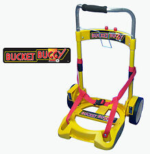 Bucket Buggy Rolling Paint Cart 5 Gallon Hand Truck Painting Tool Dolly Carrier