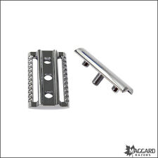 Safety Razor Replacement Head Maggard Razors V3 Closed Comb, Chrome