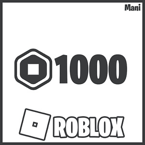 [CHEAP] 1000x ROBUX | ROBLOX FAST DELIVERY🔥[READ DESCRIPTION]