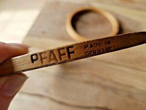 """Vintage PFAFF Wooden Embroidery Cross Stitch Hoop 5.5"""" Unbranded Hoop 4"""""""