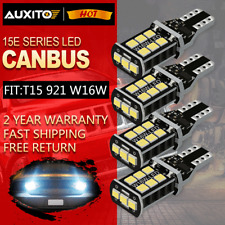 4X 921 LED Reverse Light Canbus Error Free 912 T15 W16W Backup Bulb 3000LM White