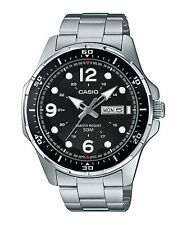 Casio Stainless Steel Mens Watch MTD100D-1A
