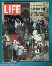 #T104.  AUSTRALIAN LIFE MAGAZINE 8th January 1968, COCA COLA BACK  COVER