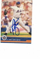 2001 Pacific Mike Hampton New York Mets Authentic Autograph COA