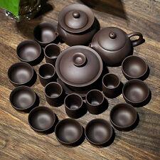 Chinese kungfu tea set 19pcs yixing zisha teasets tea pot tea cup pitcher gaiwan