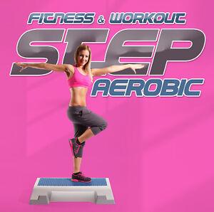 CD Fitness & Workout: Step Aerobic von Various Artists 2CDs