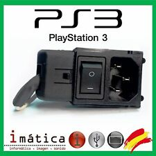 CONECTOR DE CORRIENTE CABLE PS3 FAT CECHH04 PAL DC INTERRUPTOR PLAY STATION 3