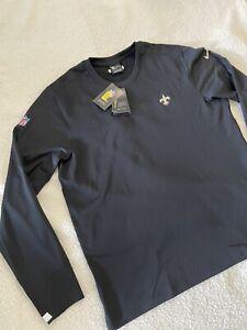 Nike New Orleans Saints Men's Long Sleeve T-Shirt NKCJ-00A Sz XL MSRP $75 NWT