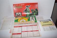 Vintage 1976 Strat-O-Matic Baseball Game - 1934 Cardinals/1977 White Sox