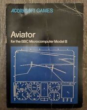 BBC Micro Model B Game  Aviator on cassette by Acornsoft 1983 with manual