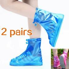 Unisex Rain Shoes Waterproof Protector Shoe Boots Rain Overshoes Anti-Slip New