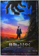 A Monster Calls - original DS movie poster - 28x40 Japanese B1 RARE 2016
