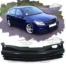 FRONT BLACK GRILL FOR VAUXHALL ASTRA H 04-06 SPORT NO EMBLEM SPOILER BODY KIT