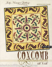 Quilt Pattern ~ COXCOMB~ by Judy Niemeyer Quilting - Foundation Paper Piecing