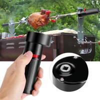 Portable Campfire Rotisserie Battery Rotator Outdoor Barbecue BBQ Chicken Motor