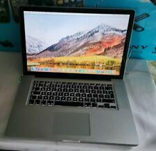 "Damaged Apple MacBook Pro A1286 15.4"" 2011 (256GB SSD, Intel i7 2, 8GB) Laptop"