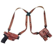 Galco Miami Classic Shoulder Holster System, Tan – Glock, Right Draw