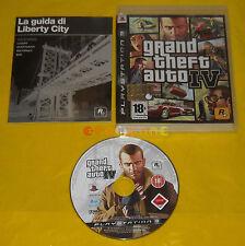 GRAND THEFT AUTO IV 4 Ps3 Versione Ufficiale Italiana 1ª Ediz GTA »» USATO