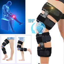 T-Scope ROM Line Adjustable Knee Brace Post Op Hinged Leg Universal Size NHS Use
