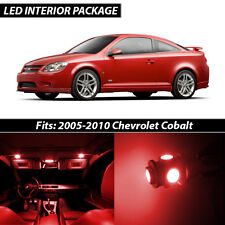 2005-2010 Chevrolet Cobalt Red Interior LED Lights Package Kit