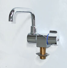 Boat, Caravan, Campervan, Horsebox chrome cold tap, swivel faucet      RR4600