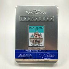 Walt Disney Treasures Disneyland USA Historical Broadcast 2 Disk Collectors Tin