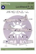 Bestfong Decals 1/72 LOCKHEED P-3C ORION Republic of China Air Force