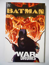 DC Comics Batman: War Drums (2004)-TPB-Trade Paperback